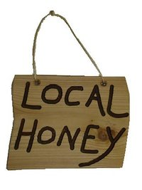 Local Honey - Rustic Sign