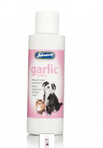 JOHNSON'S GARLIC TABLETS FOR DOG & CATS