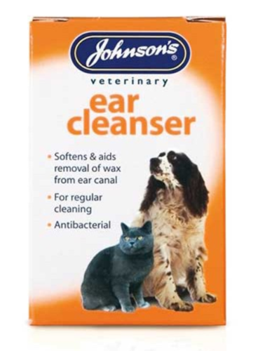 JOHNSONS EAR CLEANSER FOR CATS & DOGS