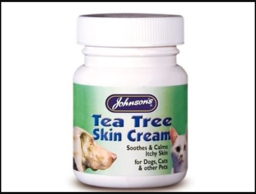 JOHNSONS TEA TREE CREAM FOR DOGS & CATS
