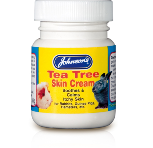 JOHNSONS TEA TREE CREAM FOR SMALL ANIMALS