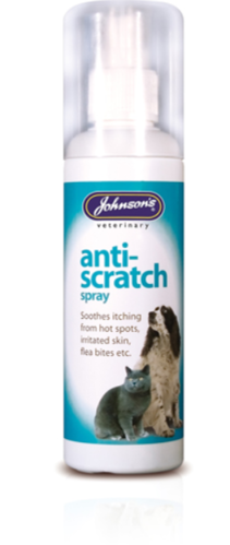 JOHNSON'S ANTI SCRATCH 100ML SPRAY FOR PETS