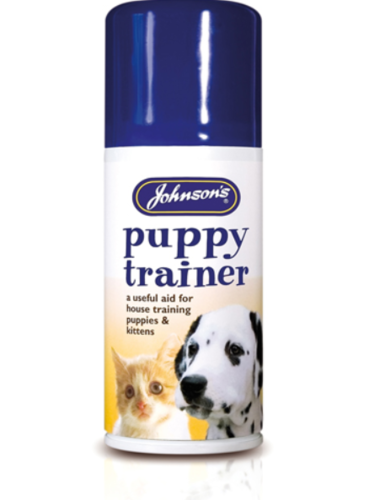 JOHNSONS PUPPY & KITTEN TRAINER SPRAY - 150ML AEROSOL