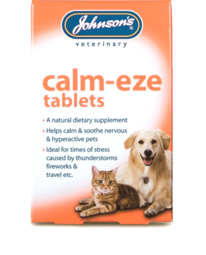 JOHNSON'S CALM-EZE TABLETS FOR CATS & DOGS