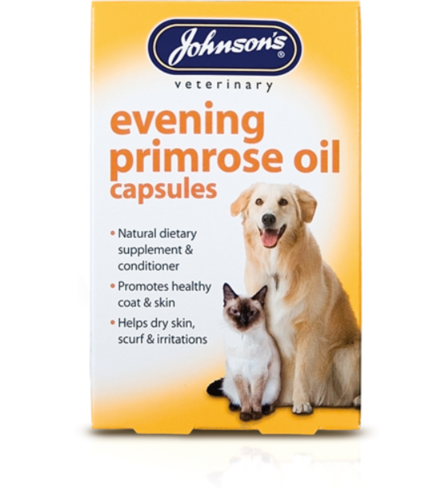 JOHNSON'S EVENING PRIMROSE OIL FOR CATS & DOGS
