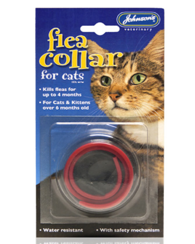 JOHNSON'S WATERPROOF FLEA COLLAR FOR CATS & KITTENS