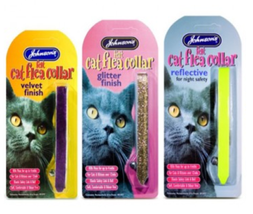 JOHNSON'S FLEA COLLARS FOR CATS & KITTENS