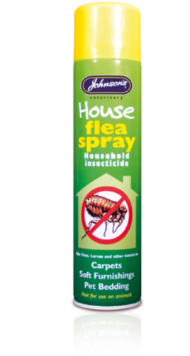 JOHNSON'S HOUSE FLEA SPRAY 250ML OR 400ML