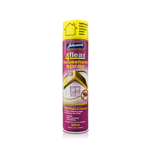 JOHNSON'S 4FLEAS HOUSEHOLD SPRAY WITH EXTRA GUARD