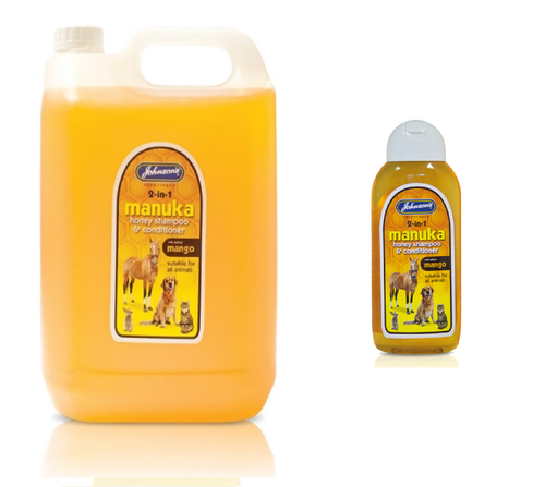 JOHNSON'S MANUKA HONEY SHAMPOO FOR ALL ANIMALS